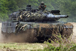 Leopard 2A6 in actie